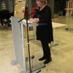 Hella Goldbach bei der Begrüßung