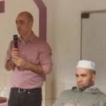 Kamal Rachidi und Imam Mohamed Kalei