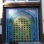 Imposanter Eingang