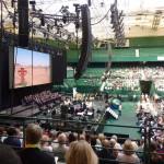 Gottesdienst im Gerry-Weber-Stadion