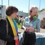 Annette Kurschus und Carmen Dietrich